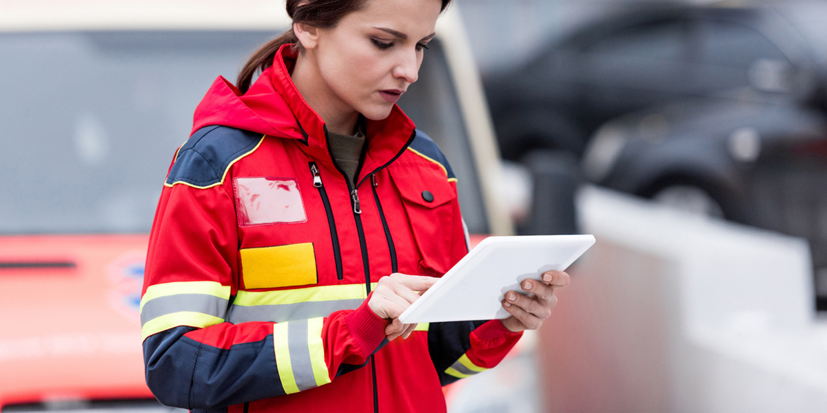 How a Heavy Duty iPad Case Can Help First Responders